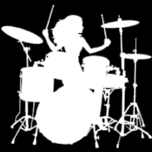 #drummer #drumming #womandrumming #woman #sticker #music #musician #drums #girl #natnat7w