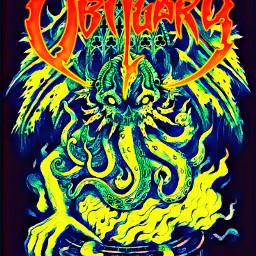 obituary metalband rock wallpaper