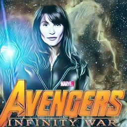 sharoncarter agent13 avengers infinitywar gemmaarterton freetoedit