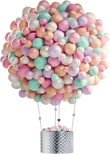 #ballons #dreams #pastelcolors #rose #object #ftestickers