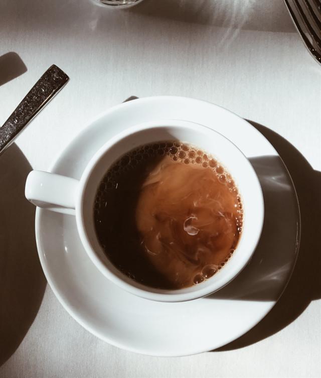 But first, coffee ☕️ #freetoedit #coffee #birds #eye