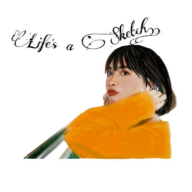 Life's a sketch.. #avnisketch #sketch #avnijoshi #11avni11 #Life'sasketch