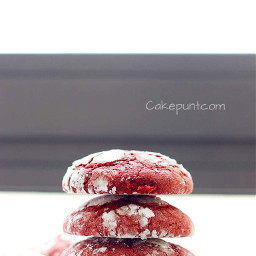 cakepuntcom cookies sweet redvelvet red