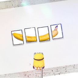 remixed minion banana cute nopants freetoedit