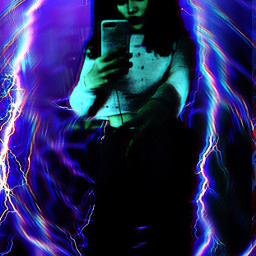 freetoedit interesting alien zaaharah lightening