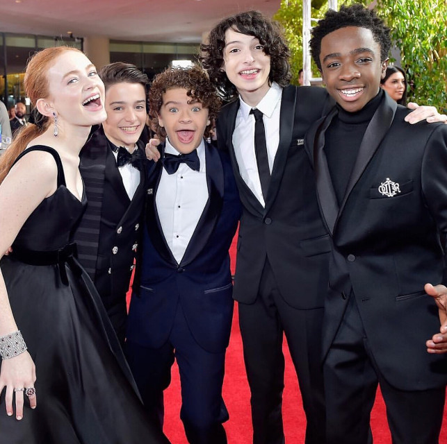 Golden Globes 2018 with the crew! Thank you for all of the support!