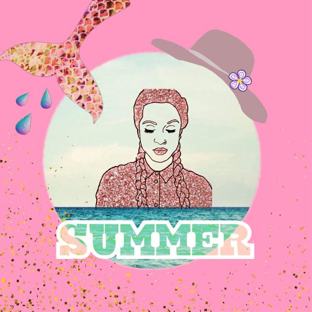 #freetoedit  #summer #sea #girl