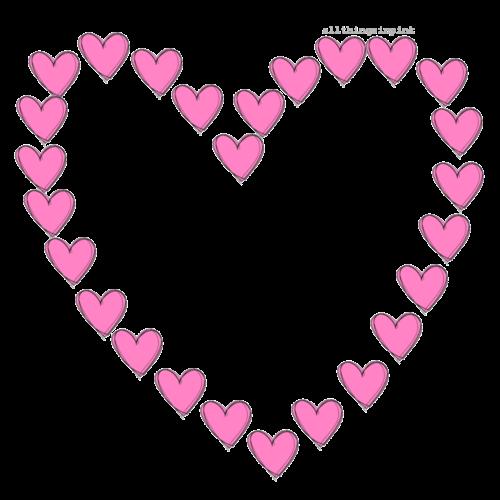 marco corazon corazones rosa emoji...
