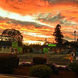 pccolorful colorful freetoedit colourfulsky sunset
