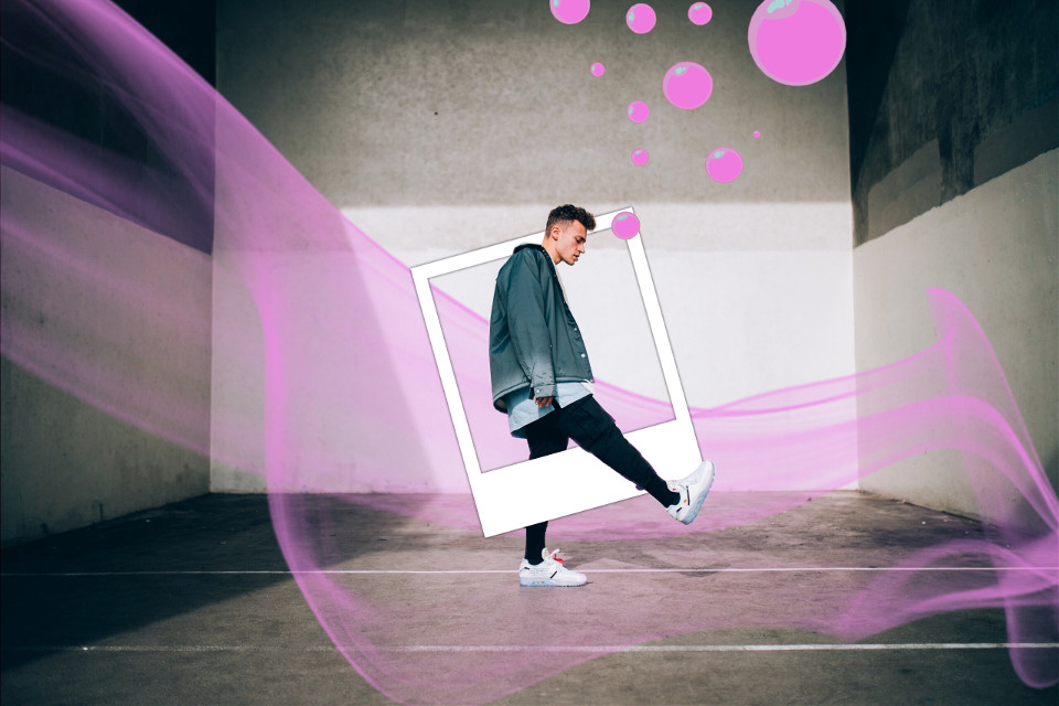 #freetoedit #remix #remixit #pink #bubbles #frame #pic #shoes #white #urban #industrial #grunge #gum #transparent #surreal #smoke #people #photography