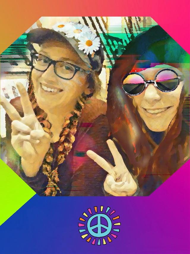 #hippievibe #peace #blureffect #hippiespirit