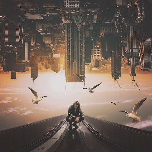 """""""A different runway""""  Op: unsplash Ig:imaginaryworld86   #madewithpicsart #surreal"""