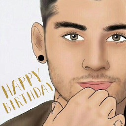 freetoedit happybirthday zaynmalik beautiful