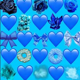 freetoedit blue colors rainbow part3