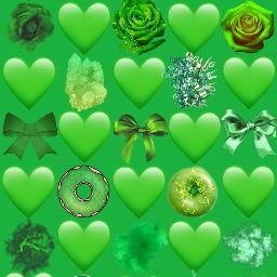 freetoedit green colors rainbow part4