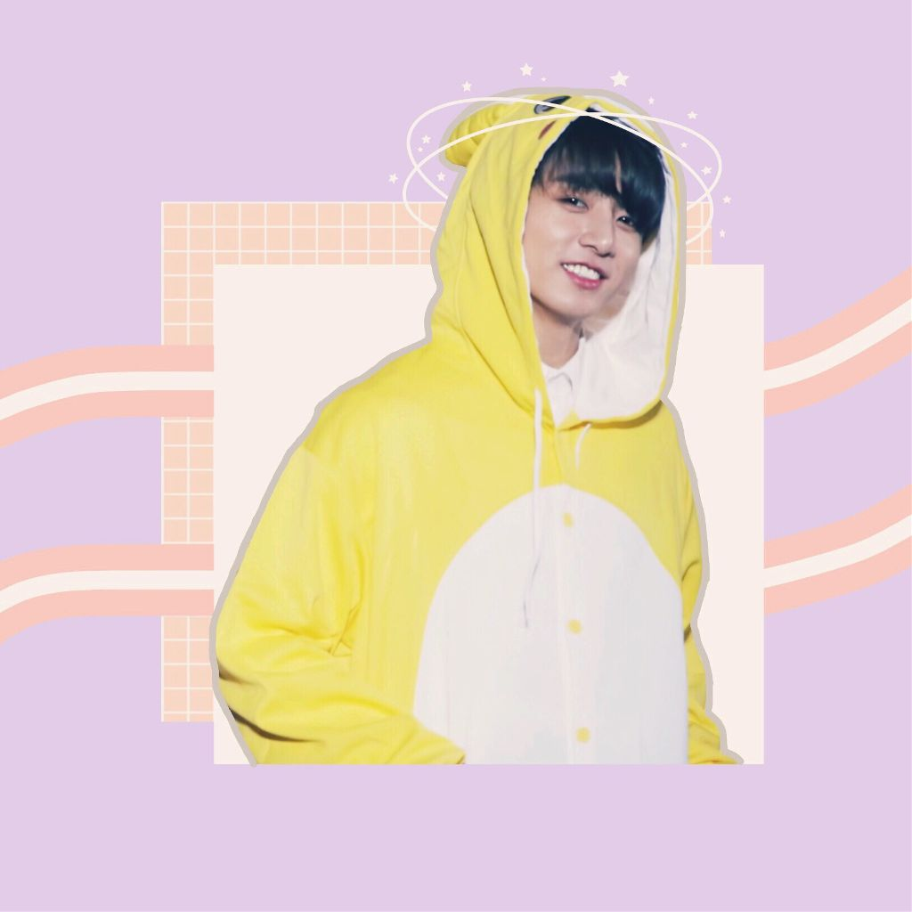 e79c22913b81 He looks so cute with his bunny onesie im not crying  jungkook  bts
