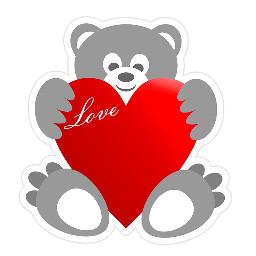 love heart valentinesday teddybear