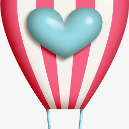 love balloon heart