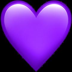 haert tim purple heartpurple sticker freetoedit