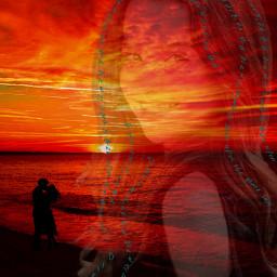 neveralone neverapart truelove lovestory sunrise freetoedit