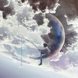 freetoedit cloud cloudshapes man boy