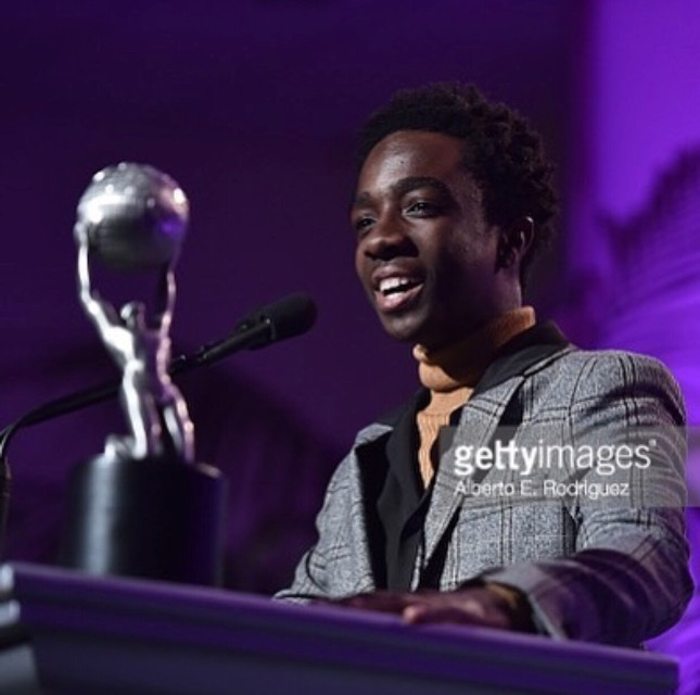 I'm so unbelievably proud of my friend @caleb_mclaughlin for his @naacpimageawards Congratulations buddy!! 🎉