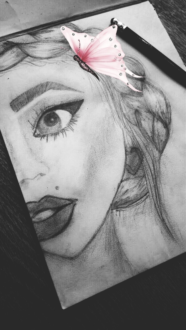 #instagirl #drawing #love #passion #magic #pinkvibes