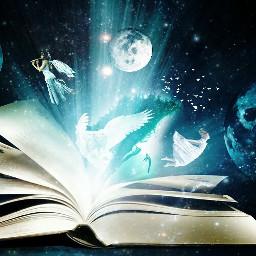 remixit fantasy magic book surreal freetoedit