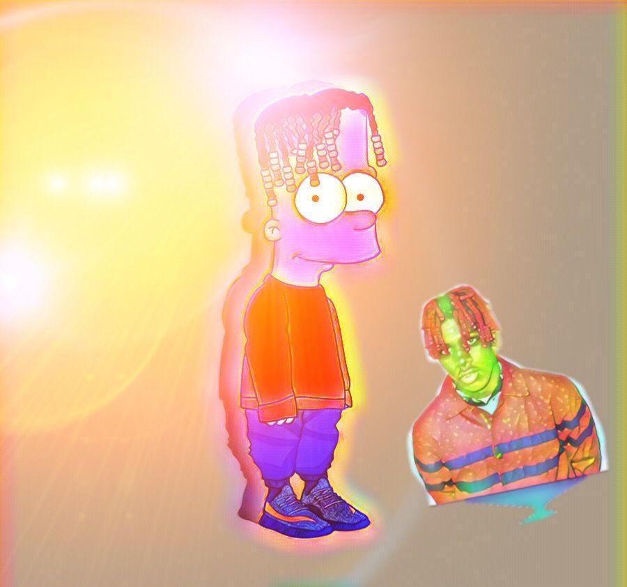 Freetoedit Lilyachty Bart Simpson Bartsimpson Rapper