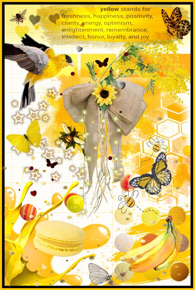 #freetoedit #yellow #OneColor