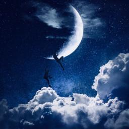 freetoedit moon picsart