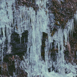 ice icicles winter nature art