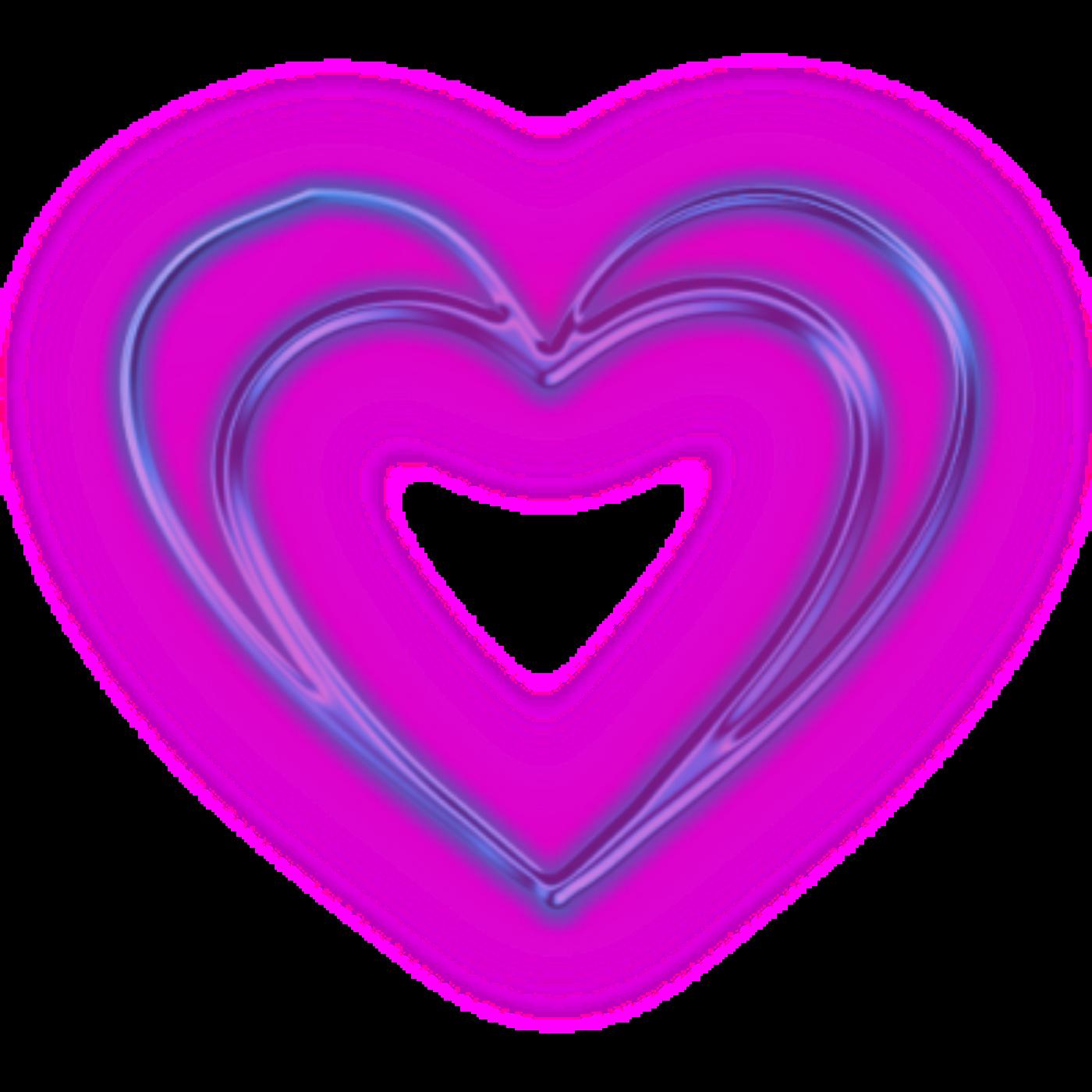 Открытка, картинки фиолетовое сердце