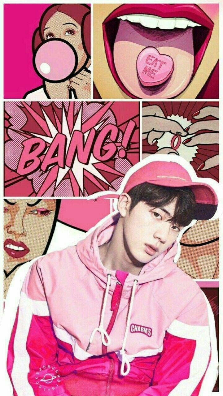 Yow Frennyyy Pink Princess Wallpaper 3 Bts Jin Btsjin