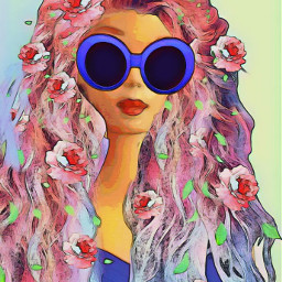 dailysticker barbie floramagiceffect wigstickerremix freetoedit