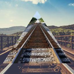 freetoedit missyou cleanbandit train triangles