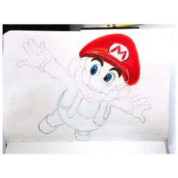 mario cartoon game games supermario freetoedit