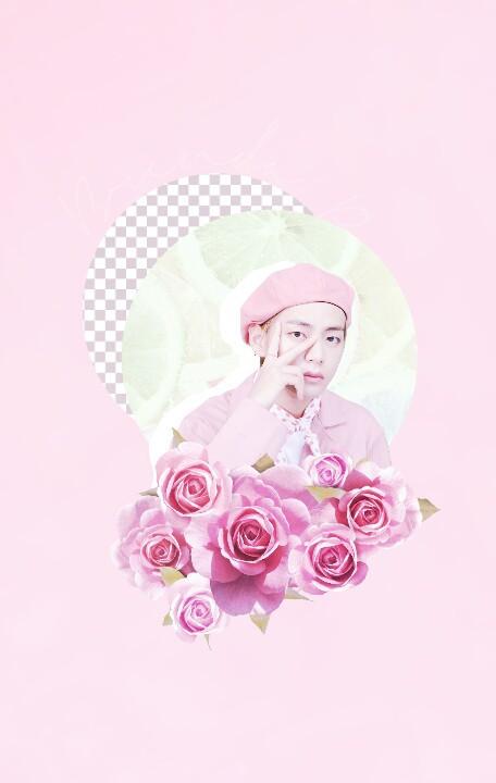 #kimtaehyung #pink #Taetae #taehyung #myfirstedit