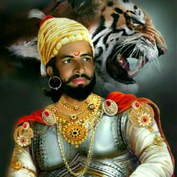 indianwarrior warrior king likelion shivaji freetoedit