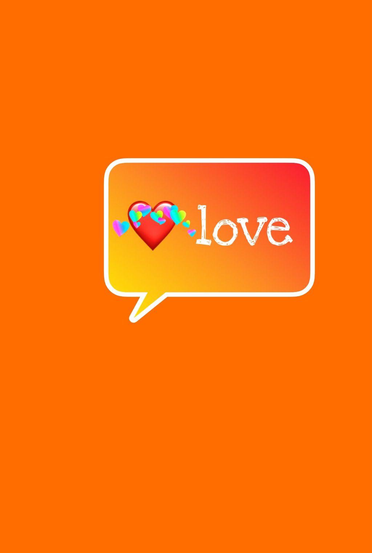 #freetoedit #love #picsart #orange #remixit #remixed