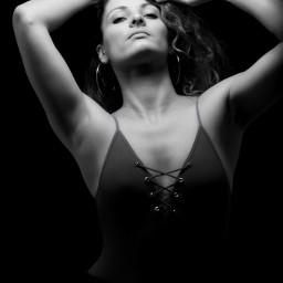 portrait photography blackandwhite woman broncolor