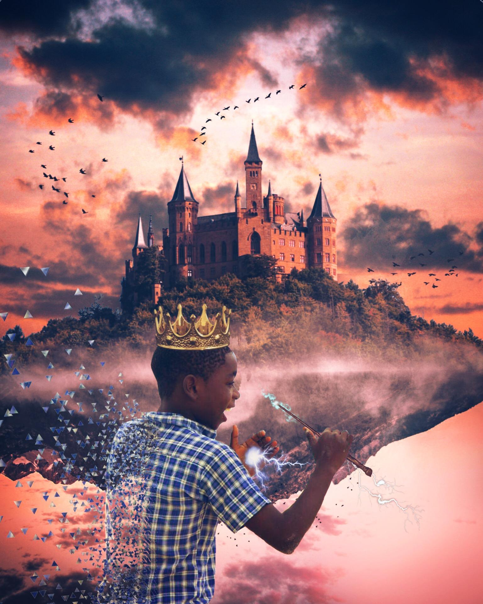 [EDIT]4th PLACE !!!! THANK YOU FOR VOTING <3 ??#echaitiislove #haitiislove #freetoedit #wizard #harrypotter #castle #haiti