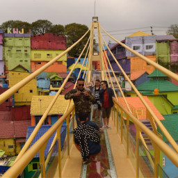freetoedit bridge indonesia colorful indonesian