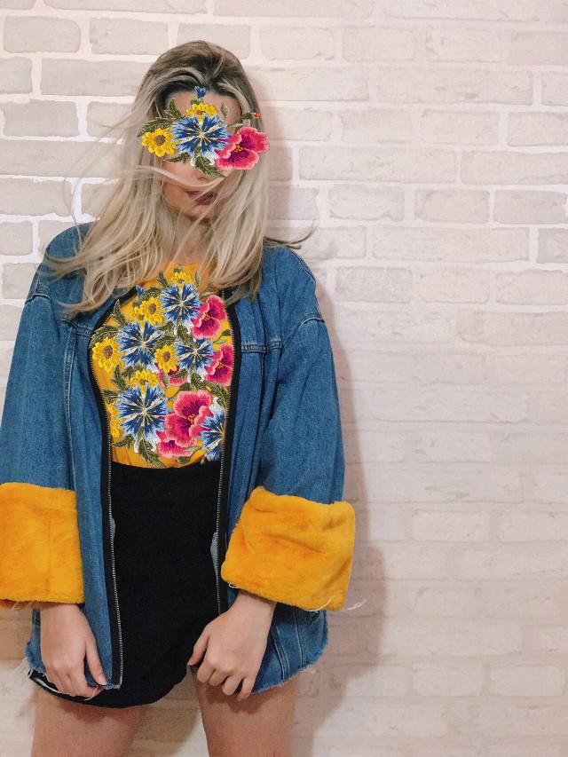 Florescendo em ideias. @picsart  #interesting #moda #fashion #art #flores #flower #flor #brasil #aesthetic