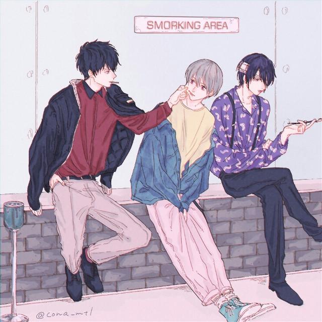 #Anime #Kawaii #AnimeBoy #Harajuku #Aesthetic