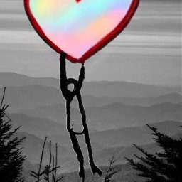 freetoedit valantine valantinesday heart heartballoon