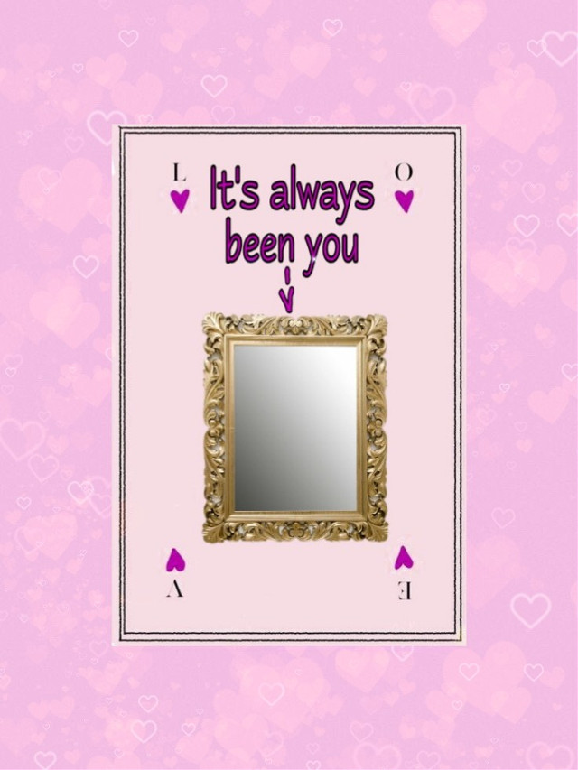 #freetoedit #valentinescard #mirror #singlelife #love #valentinesdaycard