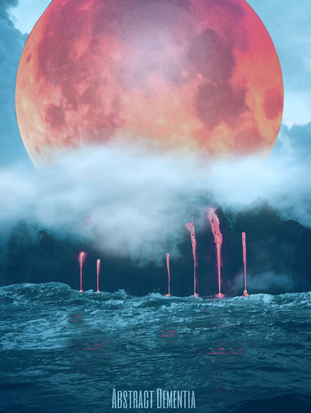 Moon-Lava.  #lava #moon