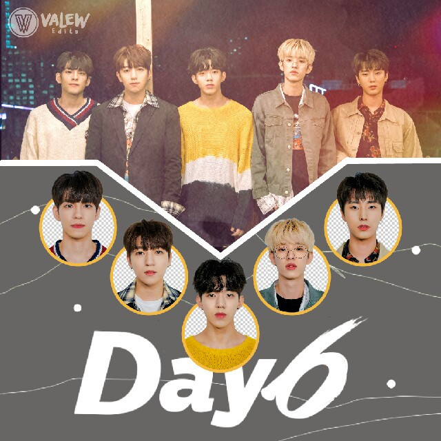 Why am I alone in this place full of people ?  Day6 edit for the challenge #EditMyFav in the category Bias Wrecker 😂 I love them   . . . .  [Tags] #day6edit  #day6 #myday #Kpop