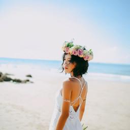 freetoedit summer vacation beach flowercrown